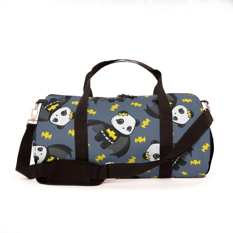 Batpanda Accessories Bag by Dino & Panda Artist Shop