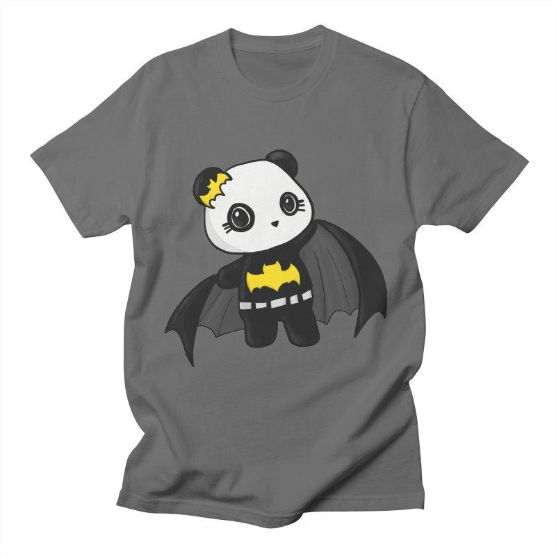 Batpanda Men's T-Shirt by Dino & Panda Artist Shop