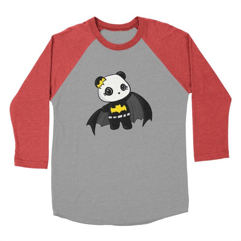 Batpanda Men's Longsleeve T-Shirt by Dino & Panda Artist Shop