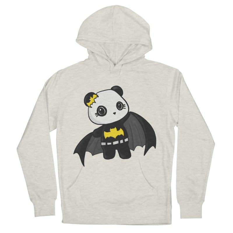 Batpanda Women's French Terry Pullover Hoody by Dino & Panda Inc Artist Shop