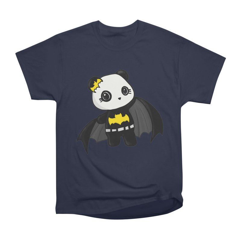 Batpanda Men's Heavyweight T-Shirt by Dino & Panda Inc Artist Shop