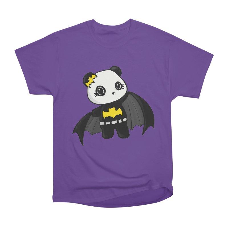 Batpanda Men's Heavyweight T-Shirt by Dino & Panda Inc Artist Shop