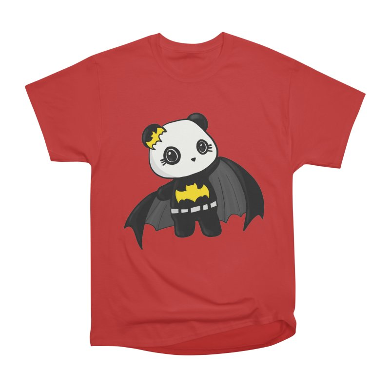 Batpanda Women's Heavyweight Unisex T-Shirt by Dino & Panda Inc Artist Shop