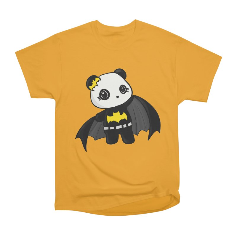 Batpanda Women's Heavyweight Unisex T-Shirt by Dino & Panda Inc Artist Shop