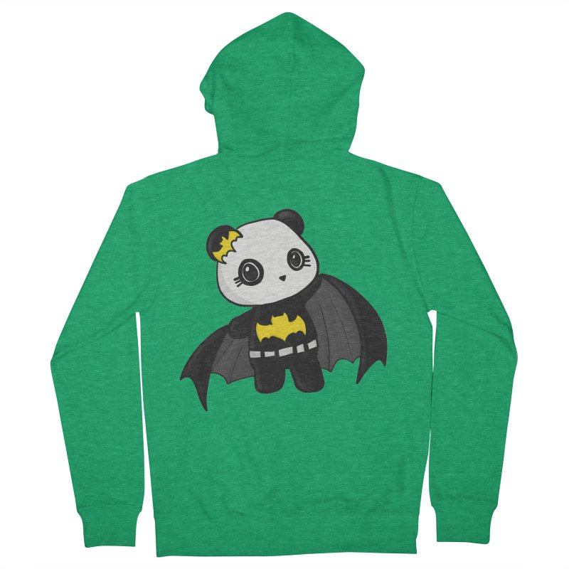 Batpanda Women's Zip-Up Hoody by Dino & Panda Inc Artist Shop