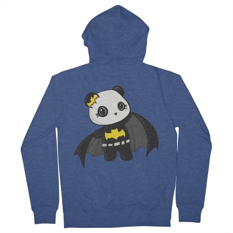 Batpanda Women's Zip-Up Hoody by Dino & Panda Inc Artist Shop