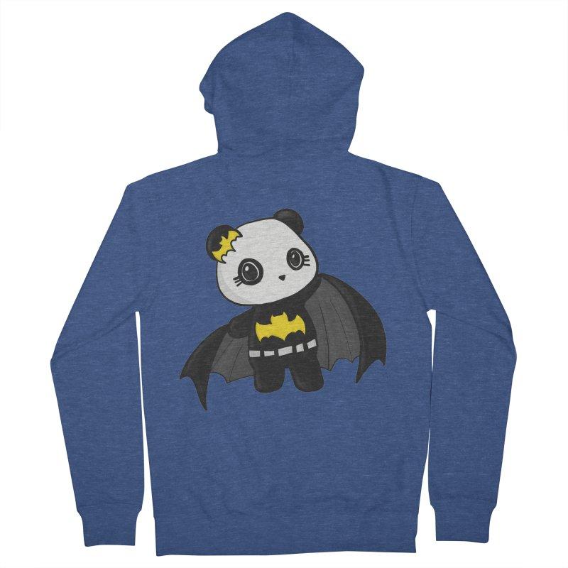 Batpanda Men's Zip-Up Hoody by Dino & Panda Inc Artist Shop
