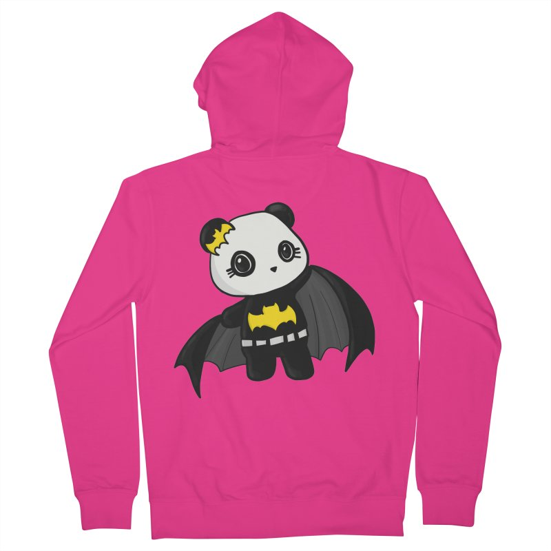 Batpanda Men's Zip-Up Hoody by Dino & Panda Inc Artist Shop
