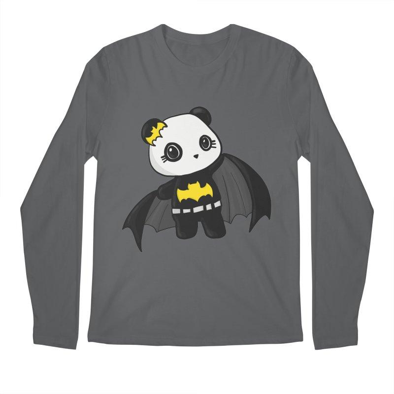 Batpanda Men's Longsleeve T-Shirt by Dino & Panda Inc Artist Shop