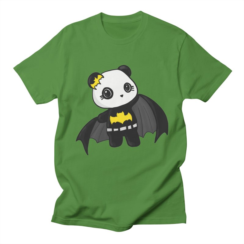 Batpanda Men's Regular T-Shirt by Dino & Panda Inc Artist Shop