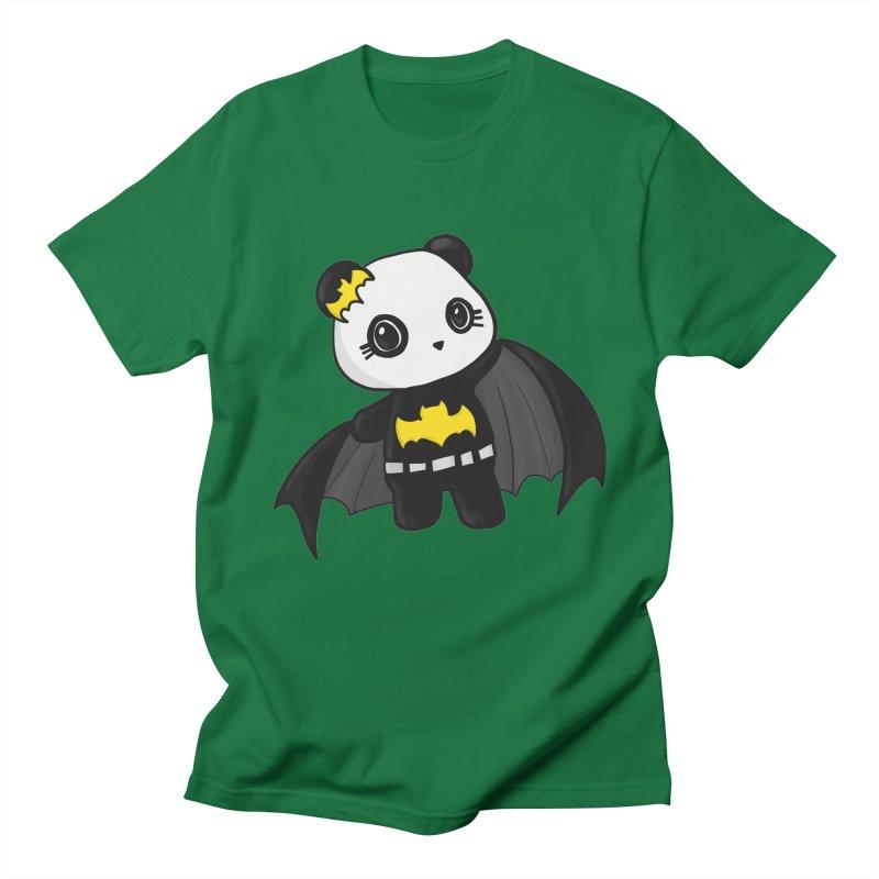 Batpanda Women's Regular Unisex T-Shirt by Dino & Panda Inc Artist Shop