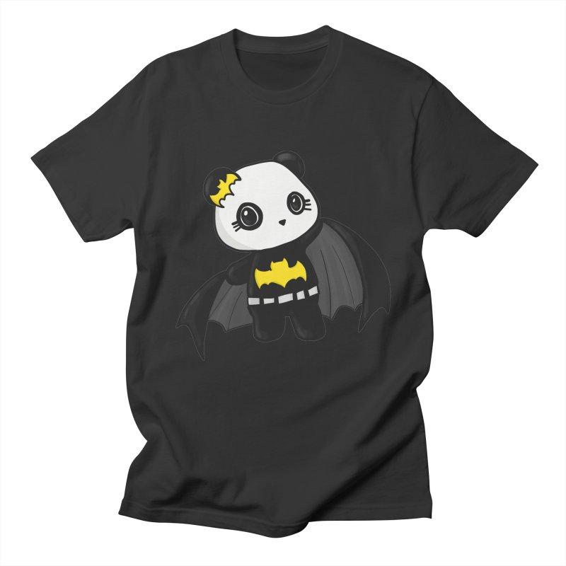 Batpanda Women's Unisex T-Shirt by Dino & Panda Inc Artist Shop