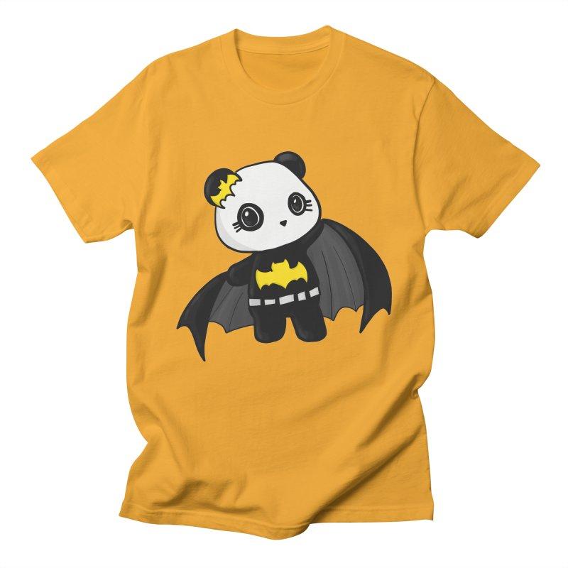 Batpanda Men's T-shirt by Dino & Panda Inc Artist Shop
