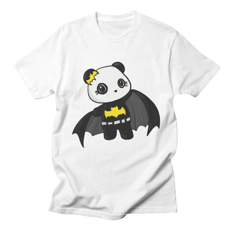 Batpanda Men's Regular T-Shirt by Dino & Panda Inc Artist Shop