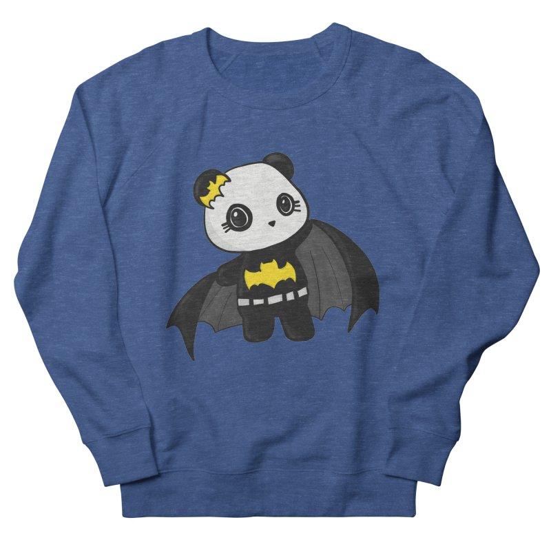 Batpanda Women's French Terry Sweatshirt by Dino & Panda Inc Artist Shop