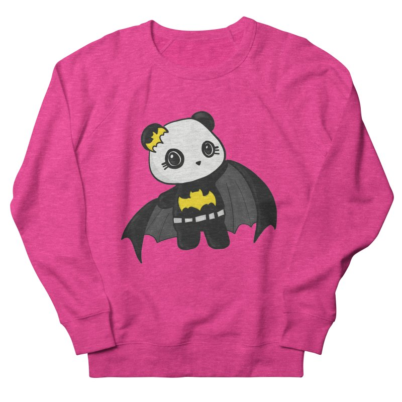 Batpanda Women's Sweatshirt by Dino & Panda Inc Artist Shop