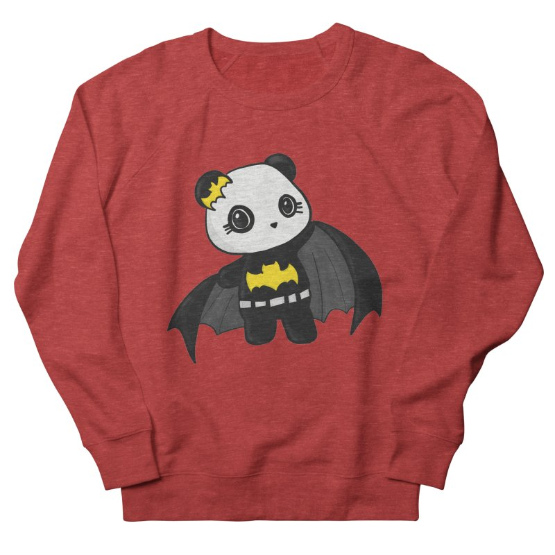 Batpanda Men's Sweatshirt by Dino & Panda Inc Artist Shop