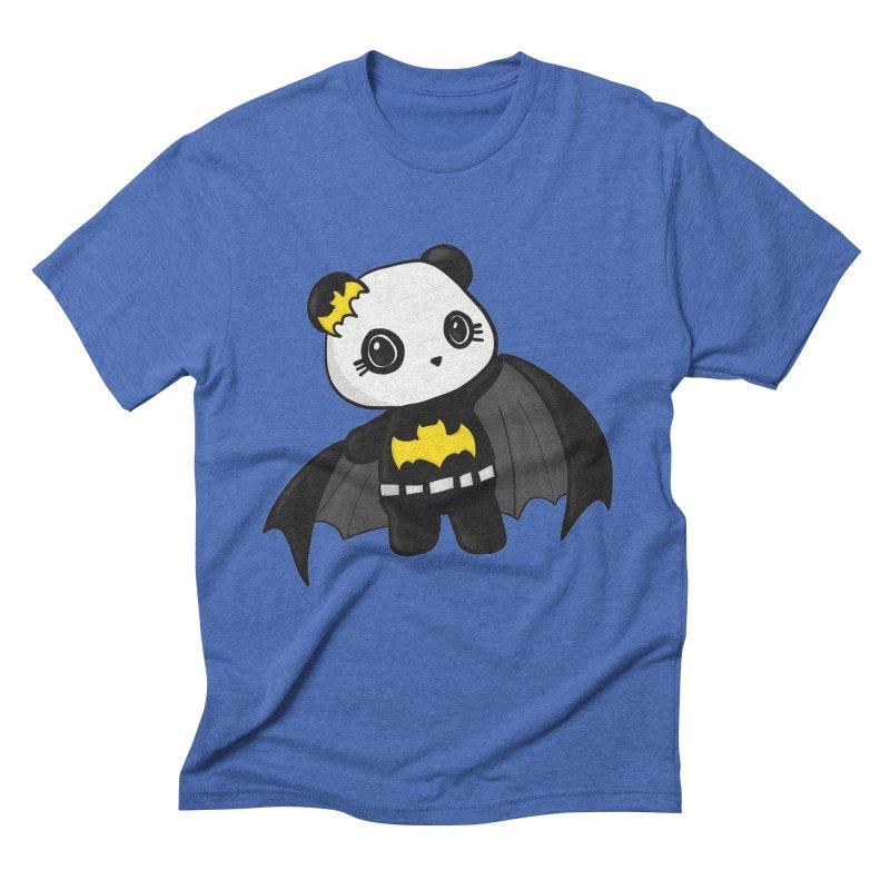 Batpanda Men's Triblend T-Shirt by Dino & Panda Inc Artist Shop