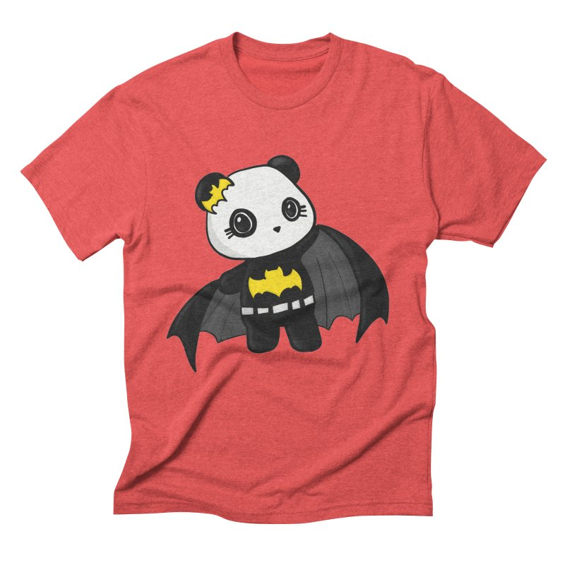 Batpanda Men's Triblend T-Shirt by Dino & Panda Inc Artist Shop
