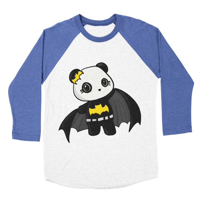 Batpanda Men's Baseball Triblend T-Shirt by Dino & Panda Inc Artist Shop