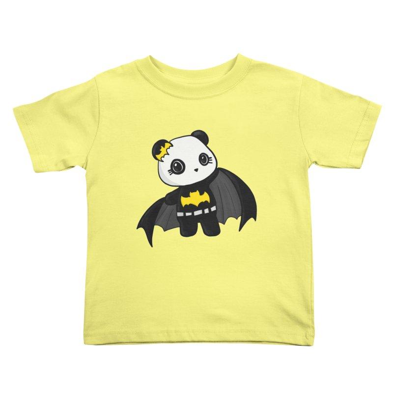Batpanda Kids Toddler T-Shirt by Dino & Panda Inc Artist Shop