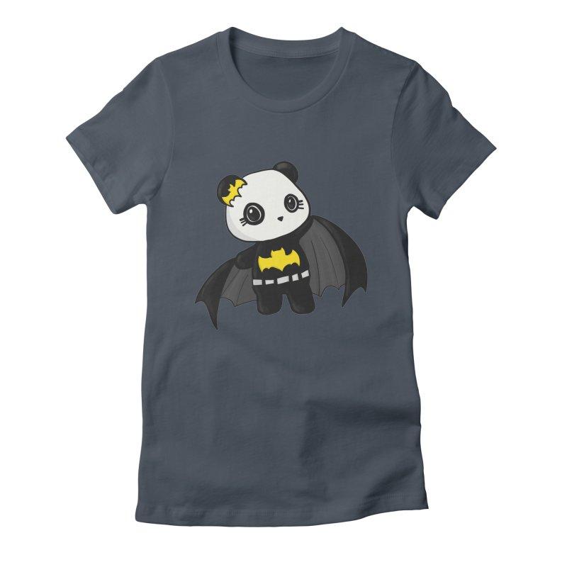 Batpanda Women's T-Shirt by Dino & Panda Artist Shop