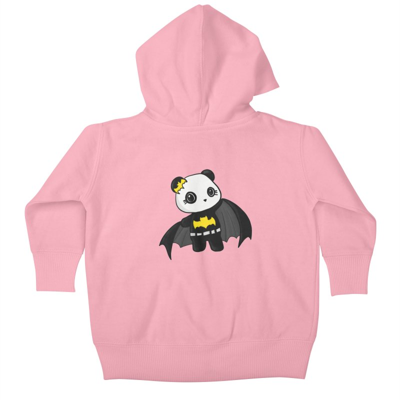 Batpanda Kids Baby Zip-Up Hoody by Dino & Panda Inc Artist Shop