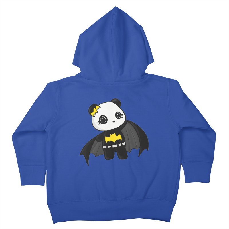Batpanda Kids Toddler Zip-Up Hoody by Dino & Panda Inc Artist Shop