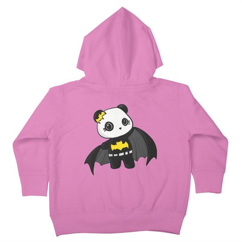 Batpanda Kids Toddler Zip-Up Hoody by Dino & Panda Inc Artist Shop