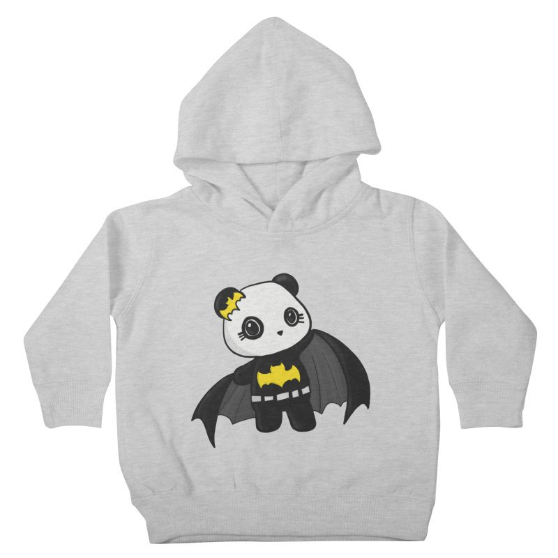 Batpanda Kids Toddler Pullover Hoody by Dino & Panda Inc Artist Shop