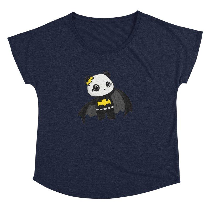 Batpanda Women's Dolman by Dino & Panda Inc Artist Shop