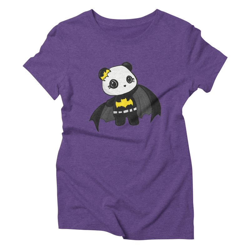 Batpanda Women's Triblend T-Shirt by Dino & Panda Inc Artist Shop