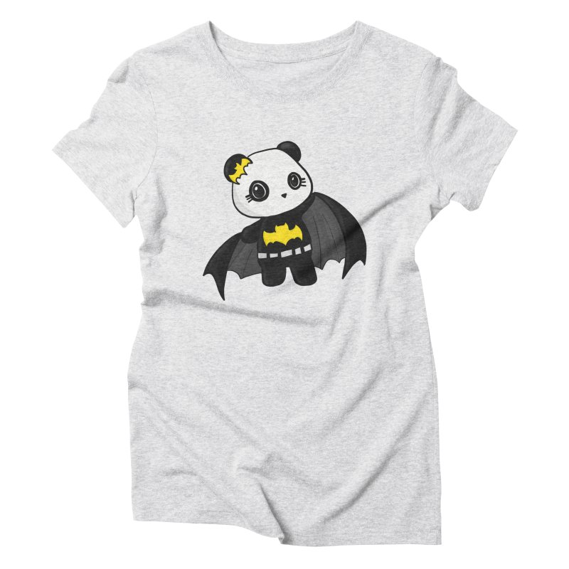 Batpanda Women's Triblend T-Shirt by Dino & Panda Inc Artist Shop