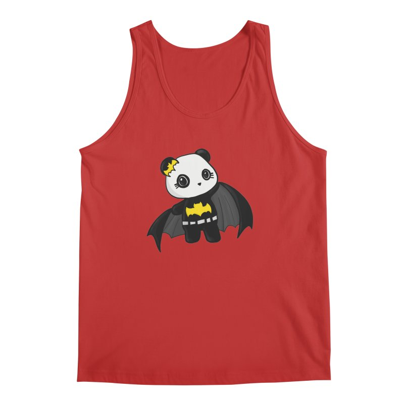 Batpanda Men's Regular Tank by Dino & Panda Inc Artist Shop