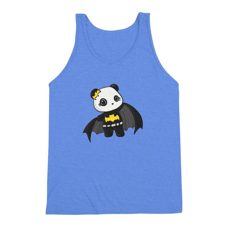 Batpanda Men's Triblend Tank by Dino & Panda Inc Artist Shop