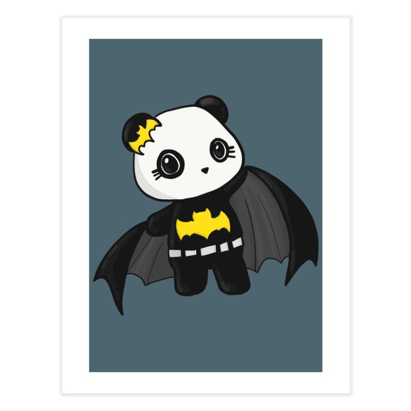 Batpanda Home Fine Art Print by Dino & Panda Artist Shop