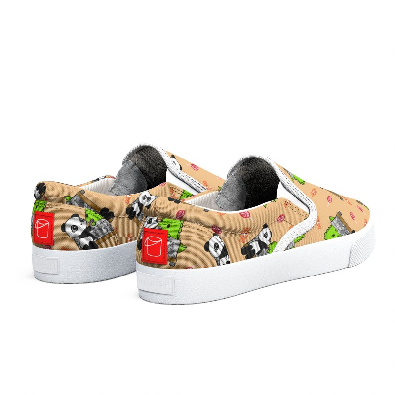 Sharing is Caring Men's Shoes by Dino & Panda Artist Shop
