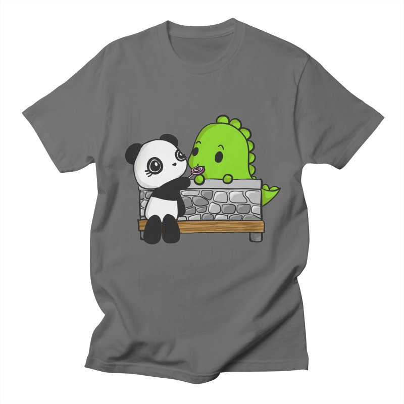 Sharing is Caring Men's T-Shirt by Dino & Panda Inc Artist Shop