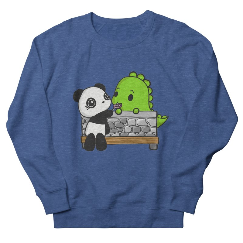 Sharing is Caring Men's Sweatshirt by Dino & Panda Inc Artist Shop