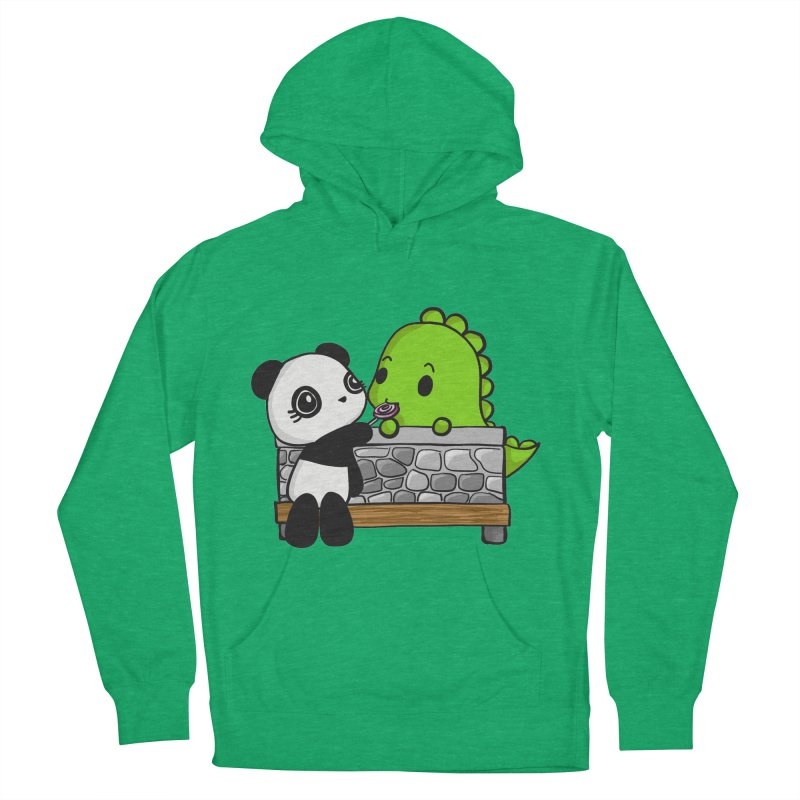 Sharing is Caring Women's Pullover Hoody by Dino & Panda Inc Artist Shop