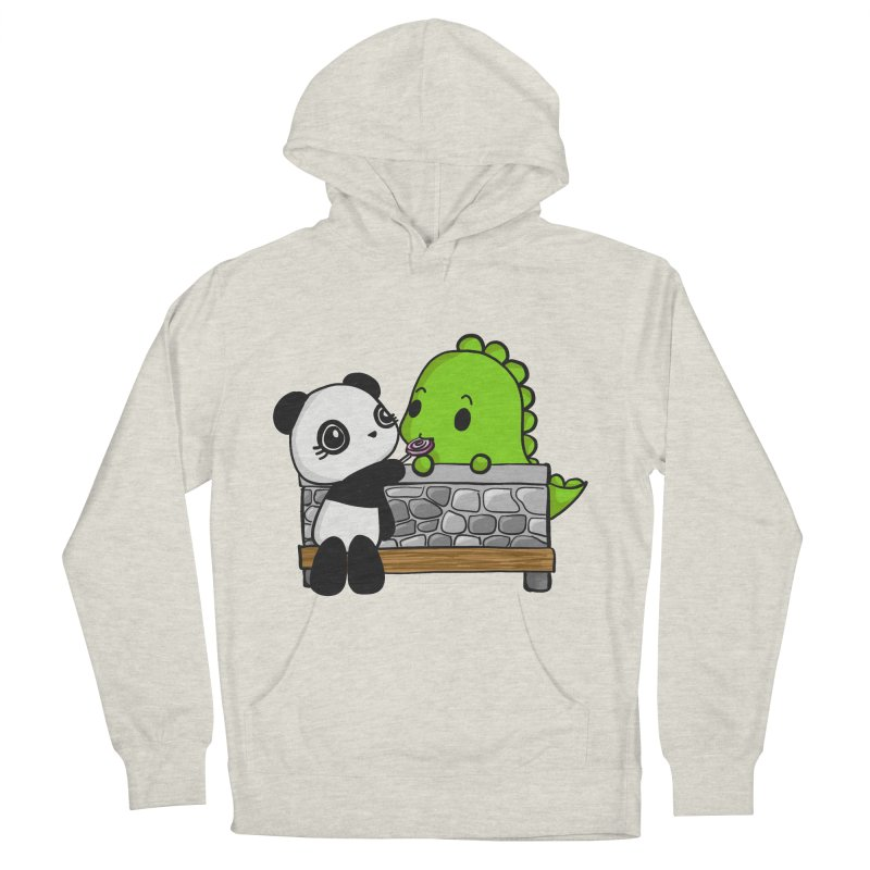 Sharing is Caring Men's Pullover Hoody by Dino & Panda Inc Artist Shop
