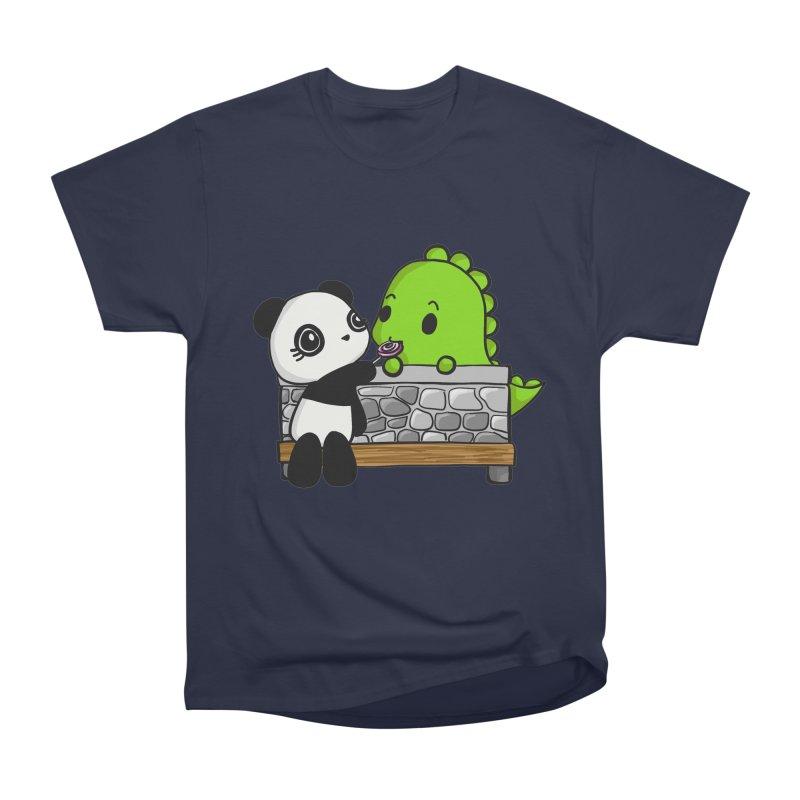 Sharing is Caring Men's Classic T-Shirt by Dino & Panda Inc Artist Shop