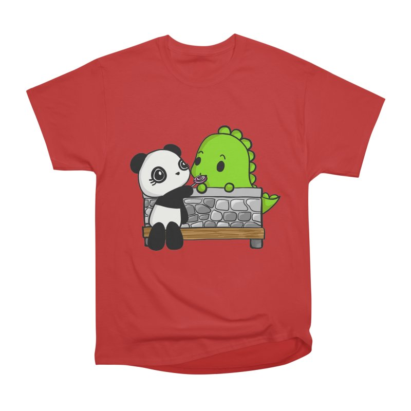 Sharing is Caring Men's Classic T-Shirt by Dino & Panda Inc Artist Shop