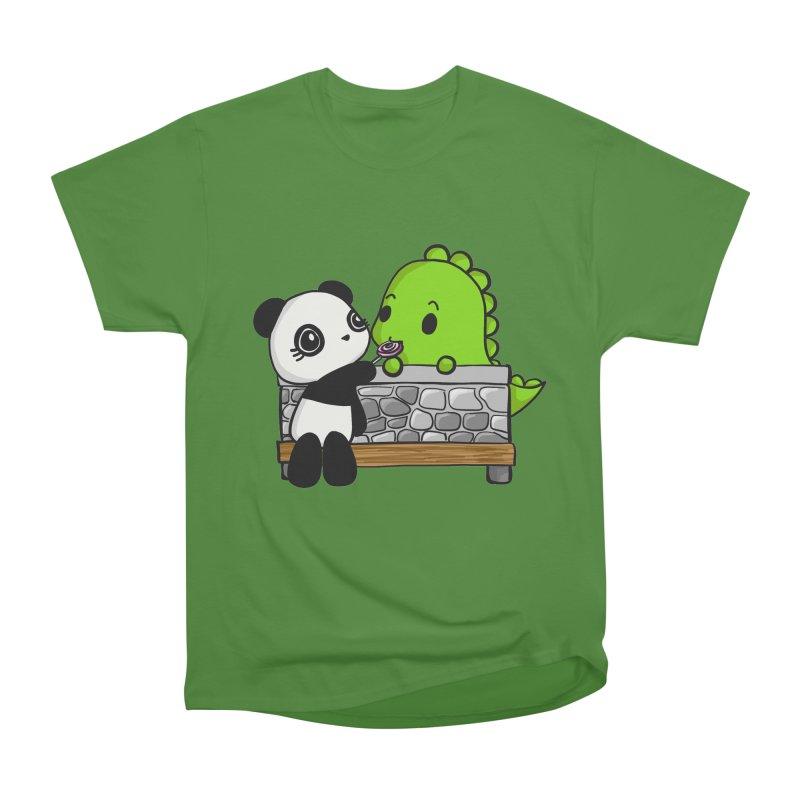 Sharing is Caring Women's Classic Unisex T-Shirt by Dino & Panda Inc Artist Shop