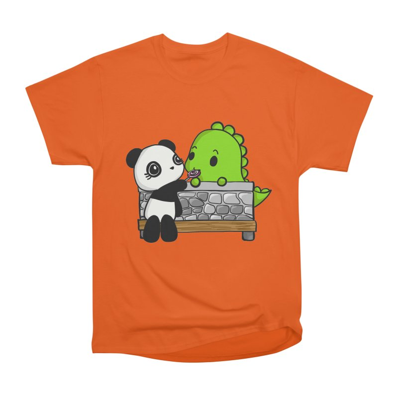 Sharing is Caring Women's Heavyweight Unisex T-Shirt by Dino & Panda Inc Artist Shop