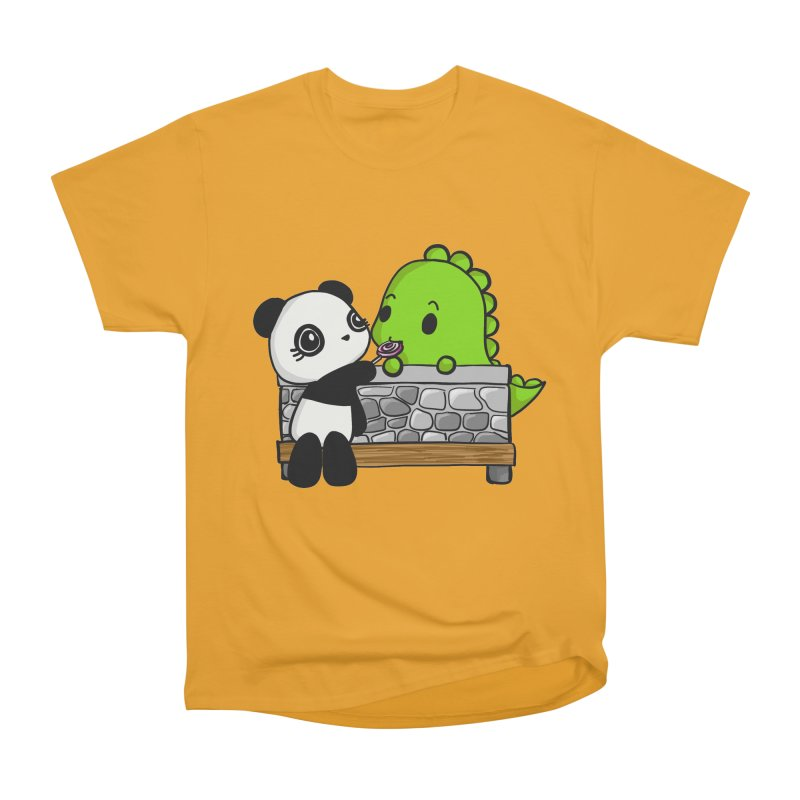 Sharing is Caring Women's Classic Unisex T-Shirt by Dino & Panda Inc Artist Shop