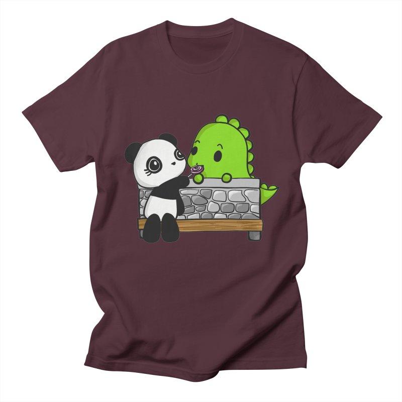 Sharing is Caring Women's Regular Unisex T-Shirt by Dino & Panda Inc Artist Shop