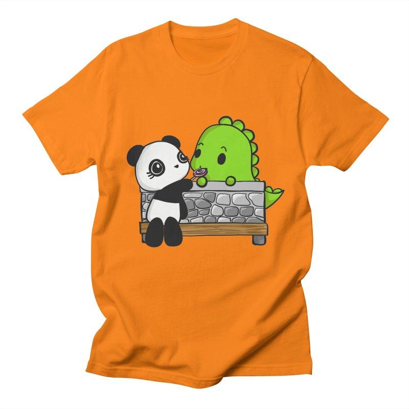 Sharing is Caring Women's Unisex T-Shirt by Dino & Panda Inc Artist Shop