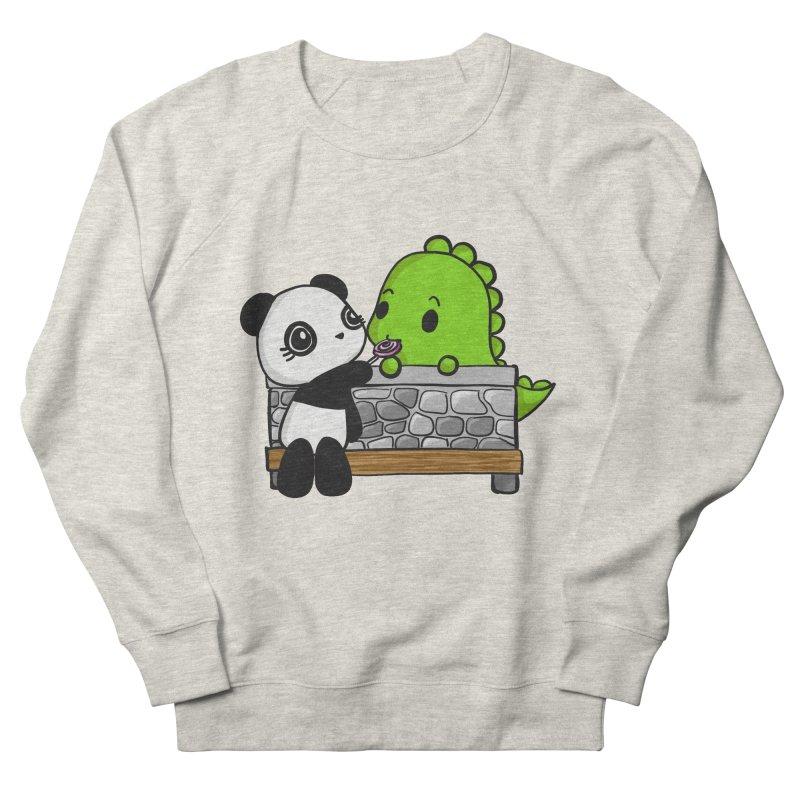 Sharing is Caring Women's Sweatshirt by Dino & Panda Inc Artist Shop