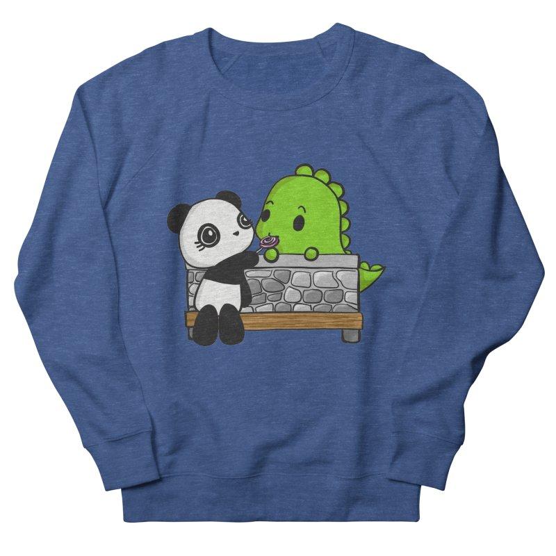 Sharing is Caring Men's Sweatshirt by Dino & Panda Inc Artist Shop